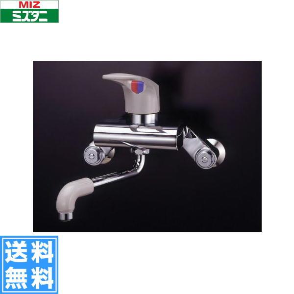 ミズタニバルブ[MIZUTANI]壁付シングルレバー混合栓[MK300シリーズ]MK300BK[一般地仕様]【送料無料】