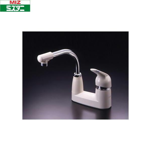 ミズタニバルブ[MIZUTANI]台付シングルレバー混合栓ES-4U[一般地仕様]【送料無料】