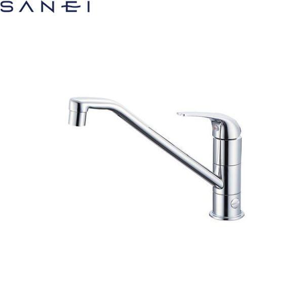 三栄水栓[SAN-EI]シングルワンホール分岐混合栓K87010BJK[寒冷地仕様]【送料無料】