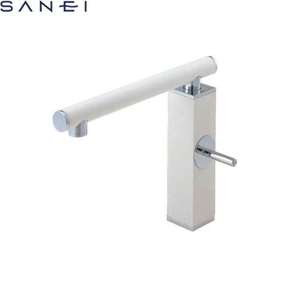 三栄水栓[SAN-EI]シングルワンホール混合栓K87310JK[寒冷地仕様]【送料無料】