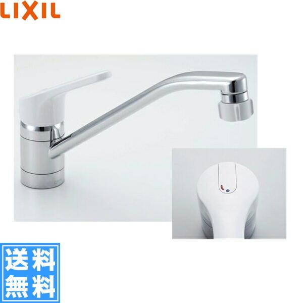 リクシル[LIXIL/INAX]キッチンシャワー付シングルレバー混合水栓[エコハンドル][一般地仕様]SF-HE442SYX【送料無料】
