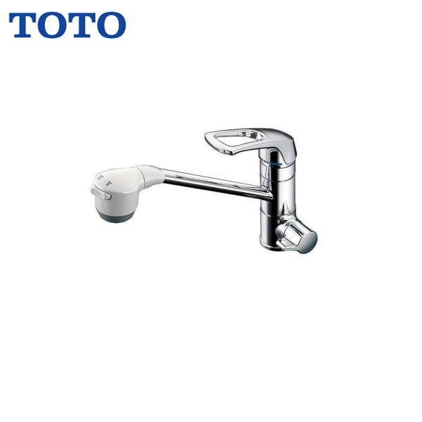 【★11/10限定★エントリー&カードでポイント最大12倍】TOTO浄水器兼用自在水栓(台付きタイプ)TKG38BS