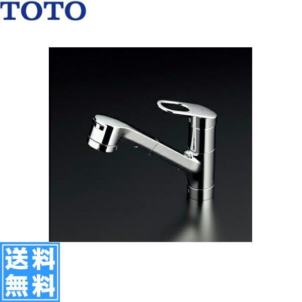 TOTOキッチン用水栓[シングルレバー混合栓][吐水切り替えタイプ][寒冷地仕様]TKGG31EBZ【送料無料】