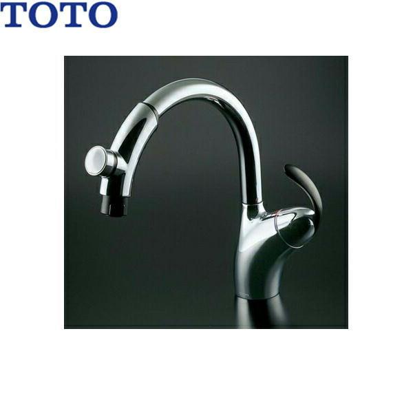 [TKN34PBTRRZ]TOTOシングル混合水栓[台付き1穴]タッチスイッチ・ハンドシャワータイプ[寒冷地仕様]【送料無料】
