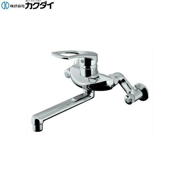 【フラッシュクーポン!5/1~5/8 AM9:59】[192-332]カクダイ[KAKUDAI]シングルレバー混合栓[水抜可能共用タイプ]【送料無料】