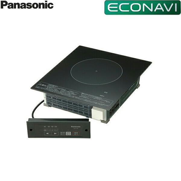 パナソニック[Panasonic]IHクッキングヒーター業務用1口単相200V[ブラック]KZ-F12BL