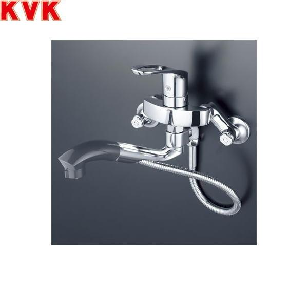 【フラッシュクーポン!5/1~5/8 AM9:59】[KM5000TP]KVKシングルレバー式シャワー付混合水栓[一般地仕様][オープンシャワーホースタイプ]【送料無料】