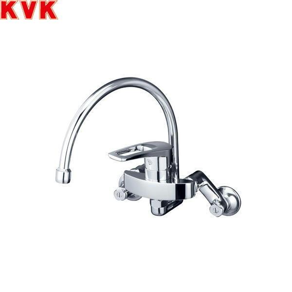 [KM5000ZTSS]KVKシングルレバー混合水栓[寒冷地仕様][スワン型パイプタイプ][送料無料]