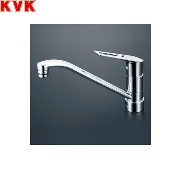 【フラッシュクーポン!5/1~5/8 AM9:59】[KM5011ZJTEC]KVK流し台用シングルレバー混合水栓[寒冷地仕様]【送料無料】