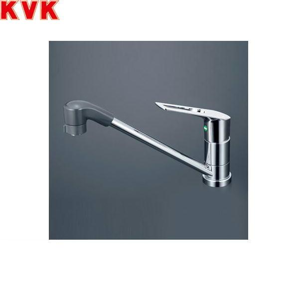 [KM5011ZTFEC]KVK流し台用シングルレバー式シャワー付混合水栓[寒冷地仕様]【送料無料】