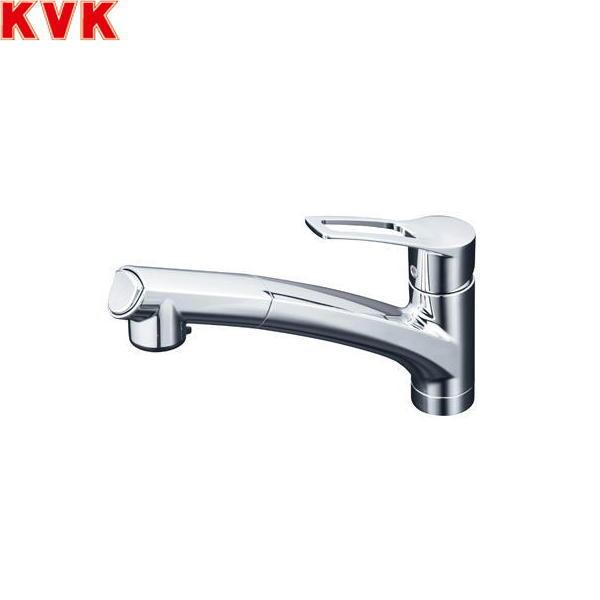 [KM5021ZTCK]KVK流し台用シングルレバー式シャワー付混合水栓[寒冷地仕様]【送料無料】