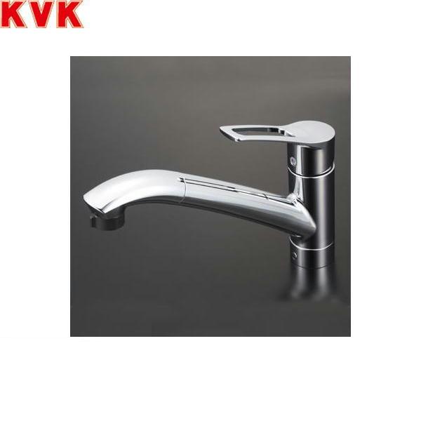 [KM5031JT]KVK流し台用シングルレバー式シャワー付混合水栓[一般地仕様][送料無料]