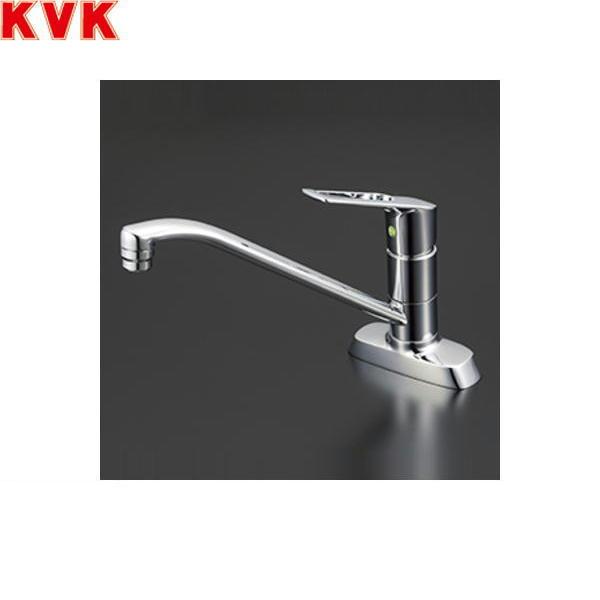 【フラッシュクーポン!5/1~5/8 AM9:59】[KM5081TV8E]KVK流し台用シングルレバー混合水栓[一般地仕様][取付穴ピッチ102mm]【送料無料】