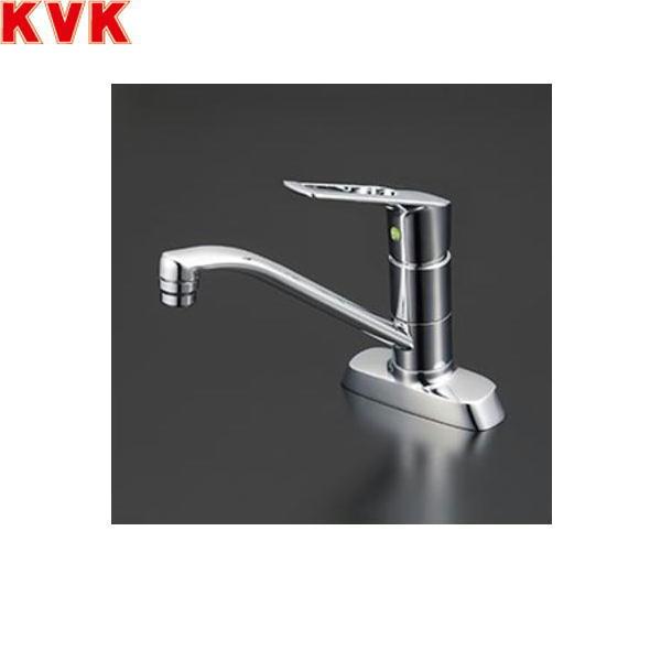 【フラッシュクーポン!5/1~5/8 AM9:59】[KM5081TV8R2E]KVK流し台用シングルレバー混合水栓[一般地仕様][取付穴ピッチ102mm]【送料無料】