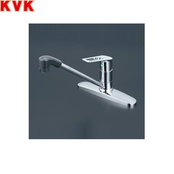 [KM5091ZTFEC]KVK流し台用シングルレバー式シャワー付混合水栓[寒冷地仕様]【送料無料】