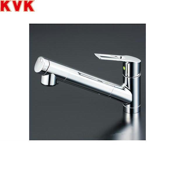 [KM6001ZEC]KVK浄水器内蔵シングルレバー式シャワー付混合水栓[寒冷地仕様]【送料無料】