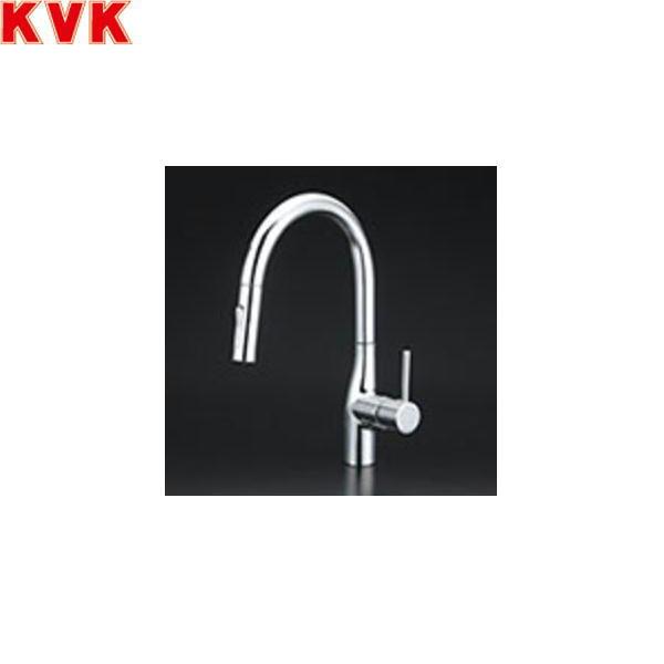 【フラッシュクーポン!5/1~5/8 AM9:59】[KM6061EC]KVK流し台用シングルレバー式シャワー付混合水栓[一般地仕様]【送料無料】