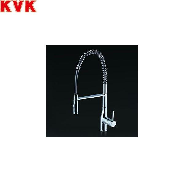 【フラッシュクーポン!5/1~5/8 AM9:59】[KM6211EC]KVKオープンホースシャワータイプシングルレバー混合水栓[一般地仕様]【送料無料】