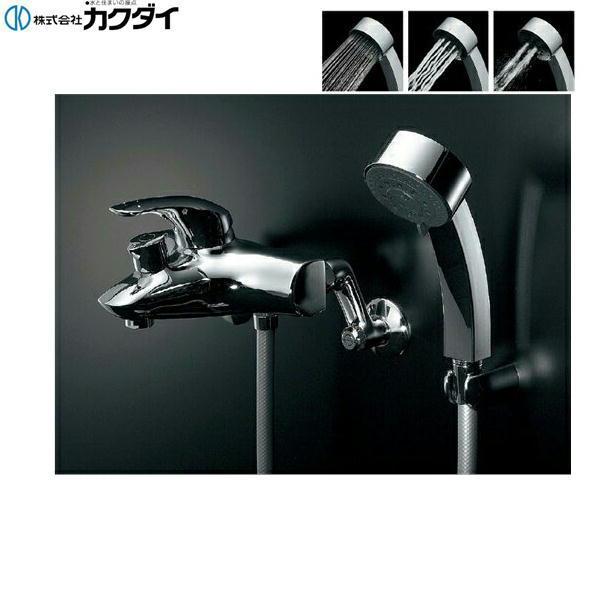 カクダイ[KAKUDAI]シングルレバーシャワ混合栓143-012【送料無料】