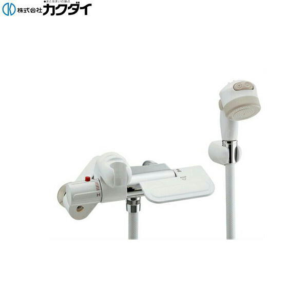 [173-074]カクダイ[KAKUDAI]サーモスタットシャワー専用混合栓[一般地仕様][断熱]【送料無料】