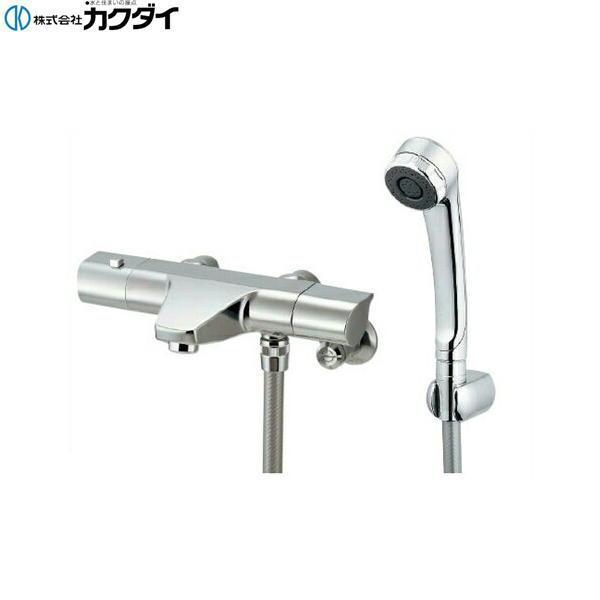 [173-076]カクダイ[KAKUDAI]サーモスタットシャワー混合栓[一般地仕様]【送料無料】