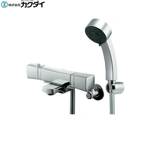 [173-237]カクダイ[KAKUDAI]サーモスタットシャワー混合栓[一般地仕様]【送料無料】
