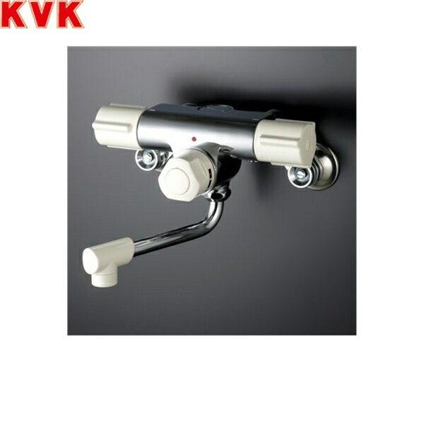 KVK定量止水付2ハンドル混合栓KM59W[寒冷地仕様]【送料無料】