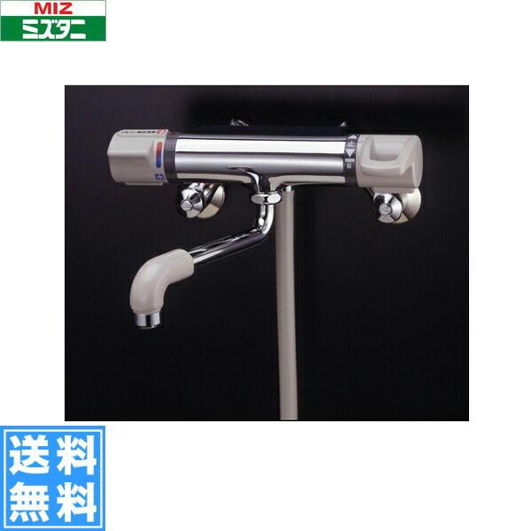 ミズタニバルブ[MIZUTANI]壁付ミキシング混合栓MW-410BK[一般地仕様]【送料無料】