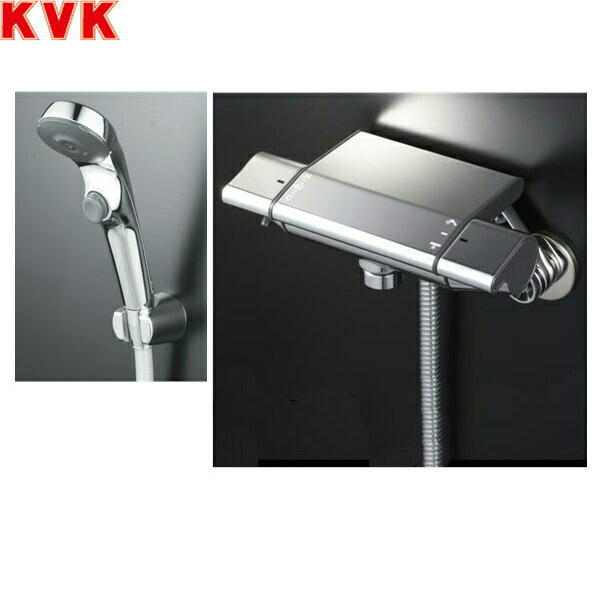 KVK浴室用サーモスタット式シャワーKF850S2[一般地仕様]【送料無料】