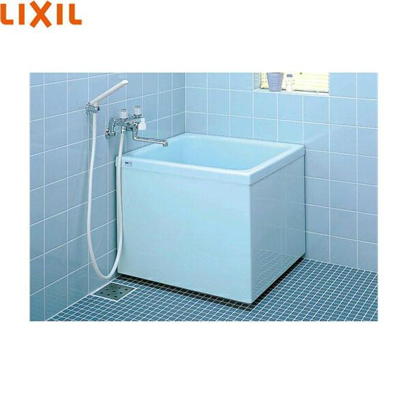 リクシル[LIXIL/INAX]ポリーナ浴槽[FRP製・760サイズ]PB-762CM/410[巻フタ付][三方全エプロン]【送料無料】