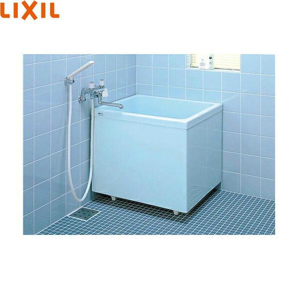 [PB-762CSM/410]リクシル[LIXIL/INAX]ポリーナ浴槽[FRP製・760サイズ][巻フタ付][三方全エプロン]【送料無料】