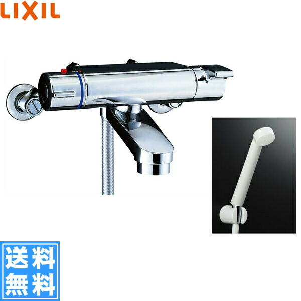 リクシル[LIXIL/INAX]シャワーバス水栓[サーモスタット][ヴィラーゴシリーズ][一般地仕様]BF-2147TKSD【送料無料】