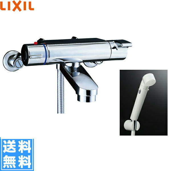 リクシル[LIXIL/INAX]シャワーバス水栓[サーモスタット][ヴィラーゴシリーズ][寒冷地仕様]BF-2147TKNSDW【送料無料】