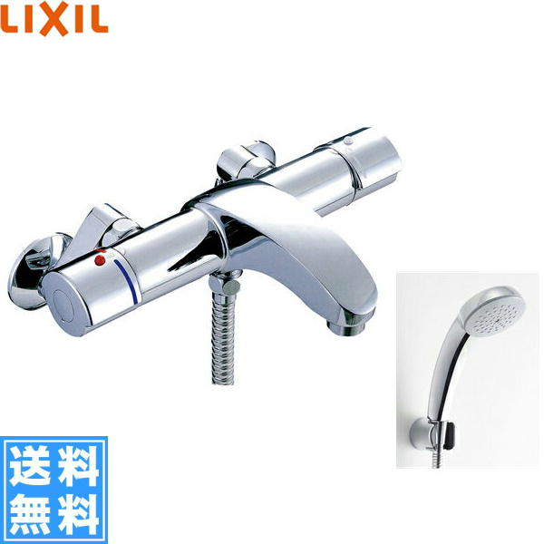 リクシル[LIXIL/INAX]シャワーバス水栓[サーモスタット][アウゼシリーズ][寒冷地仕様]BF-A147TNSCW【送料無料】