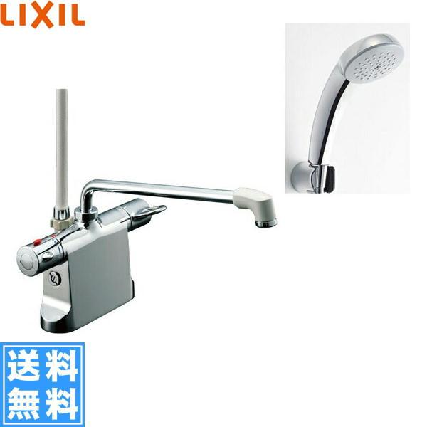 リクシル[LIXIL/INAX]シャワーバス水栓[サーモスタット・デッキタイプ][ビーフィットシリーズ][寒冷地仕様]BF-B646TNSC(300)-A120【送料無料】