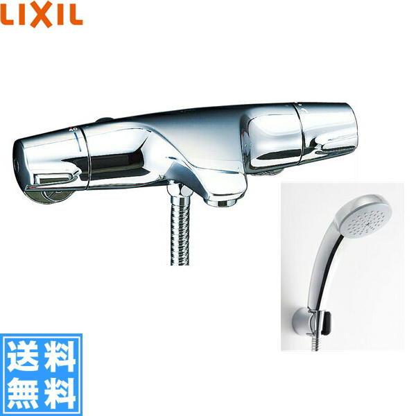 リクシル[LIXIL/INAX]シャワーバス水栓[サーモスタット][ジュエラシリーズ][一般地仕様]BF-J147TSC【送料無料】