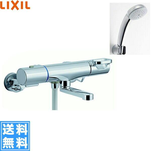 [BF-WM147TNSC]リクシル[LIXIL/INAX]シャワーバス水栓[サーモスタット][エコフルスプレーシャワー(メッキ仕様)][寒冷地仕様]【送料無料】