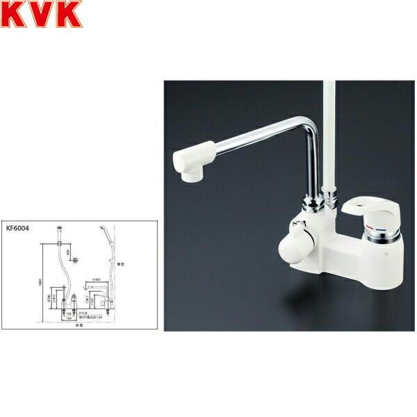 KVKデッキ形シングルレバー式シャワーKF6004[一般地仕様]【送料無料】
