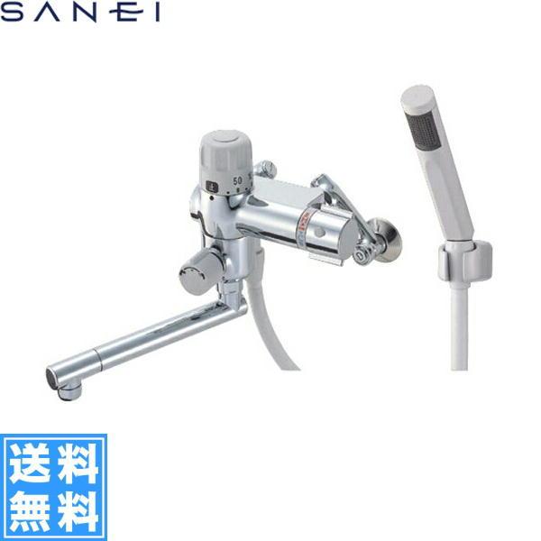 三栄水栓[SAN-EI]サーモスタット混合水栓(定量止水)SK1853D[一般地仕様]【送料無料】