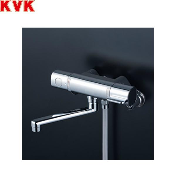 [FTB100KW3FT]KVKサーモスタット式シャワー[170mmパイプ付][eシャワー3wayワンストップ付][寒冷地仕様]