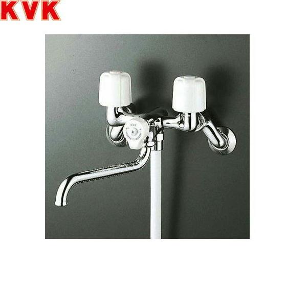 [KF100N2WR24]KVK一時止水付2ハンドルシャワー水栓[洗い場・浴槽兼用水栓][寒冷地仕様]【送料無料】