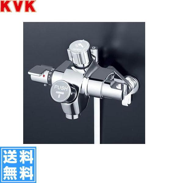 [KF3040SV]KVK自閉式サーモスタット式シャワー水栓[シャワー側・ハンドル開閉タイプ][洗い場専用水栓]【送料無料】