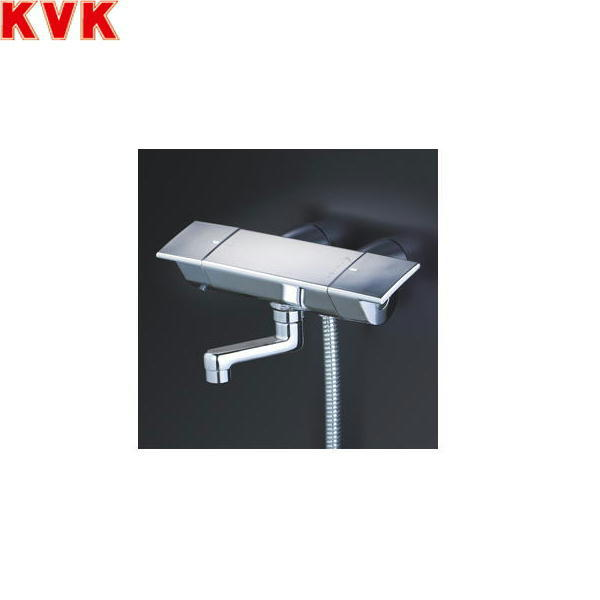 [KF3050GN]KVKサーモスタット式シャワー水栓[スカートソケットタイプ][洗い場専用水栓][一般地仕様]【送料無料】