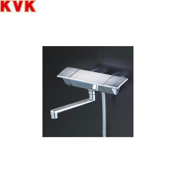 [KF3050GR1]KVKサーモスタット式シャワー水栓[スカートソケットタイプ][洗い場・浴槽兼用水栓][一般地仕様]【送料無料】