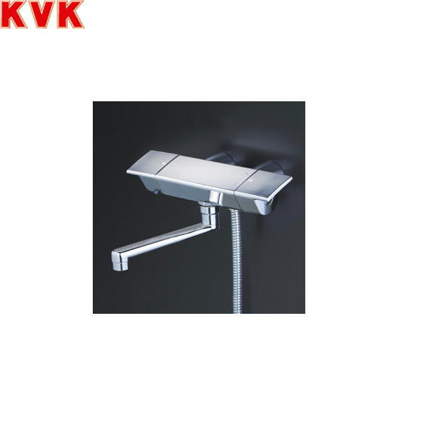 [KF3050WGR1]KVKサーモスタット式シャワー水栓[スカートソケットタイプ][洗い場・浴槽兼用水栓][寒冷地仕様]【送料無料】
