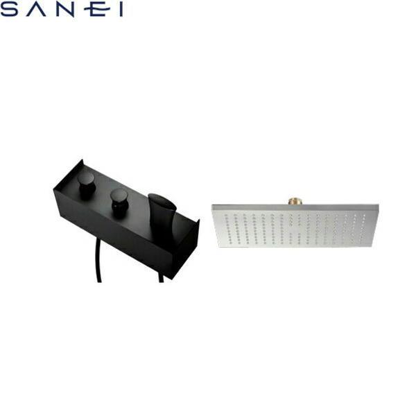 [SK9891-1S-13]三栄水栓[SANEI]サーモシャワー混合栓[オーバーシャワーヘッド付][送料無料]