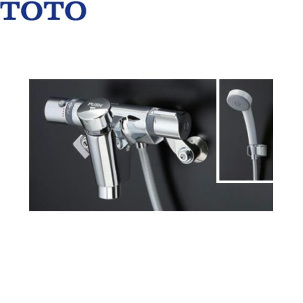 【フラッシュクーポン!5/1~5/8 AM9:59】[TMF49E3R]TOTO自閉式壁付サーモスタット混合水栓[エアイン]【送料無料】