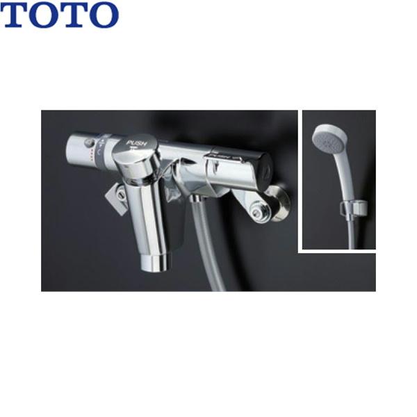 [TMF49E4R]TOTO自閉式壁付サーモスタット混合水栓[エアイン]【送料無料】
