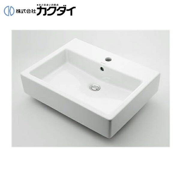 【フラッシュクーポン!5/1~5/8 AM9:59】カクダイ[KAKUDAI]角型洗面器#DU-0452600000