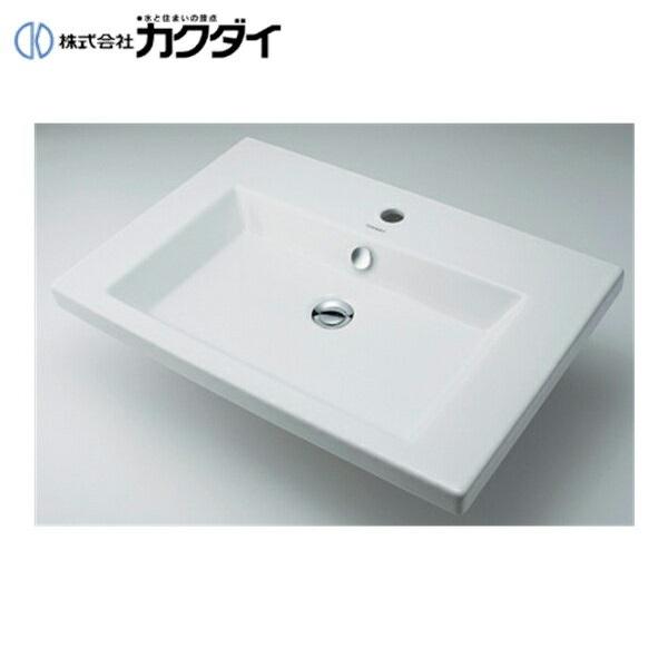 【フラッシュクーポン!5/1~5/8 AM9:59】カクダイ[KAKUDAI]角型洗面器#DU-0491700000